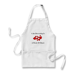 Cake Decorating Apron by Lorelie