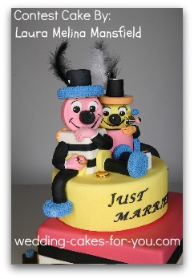 whimsical wedding cakes