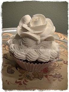 whipped cream rose