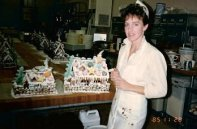 Lorelie at first bakery job