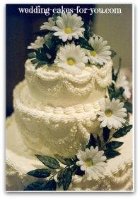 daisy cake design