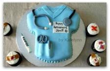 nursing retirement cake