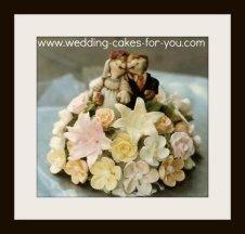bunny wedding cake topper