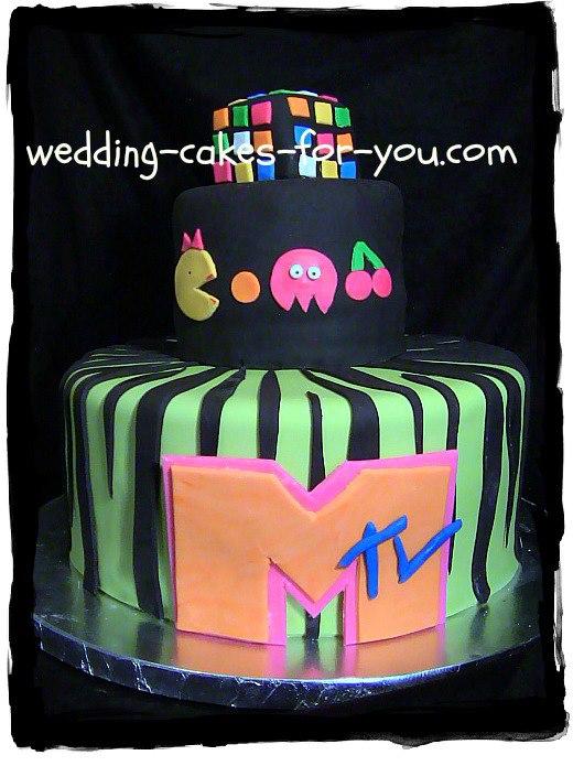 Pacman Fondant Cake
