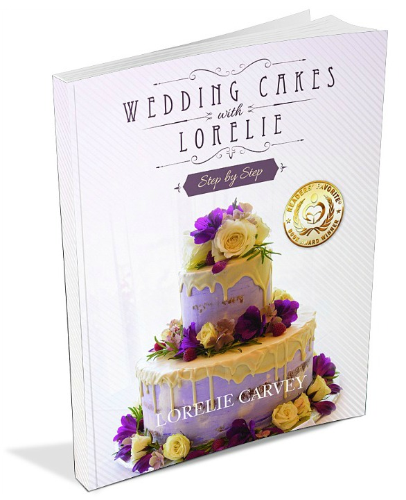 Lorelie's step by step how to make a wedding cake book