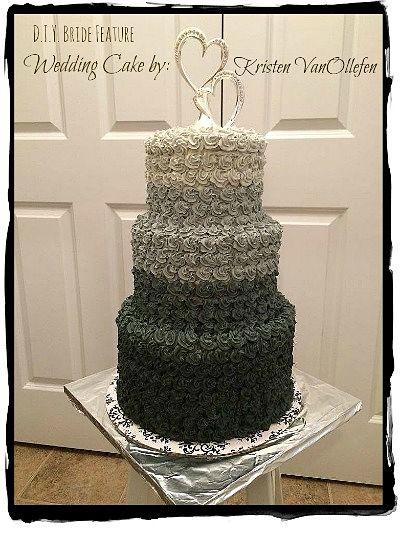 Elegant DIY Wedding Cake