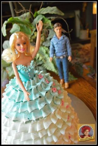 Barbies Buttercream Bowl Gown