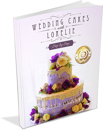 wedding cakes with Lorelie Step by Step book
