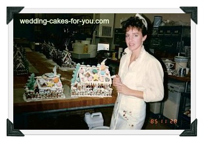 Making Gingerbread Houses in 1985 at La Foret Bakery