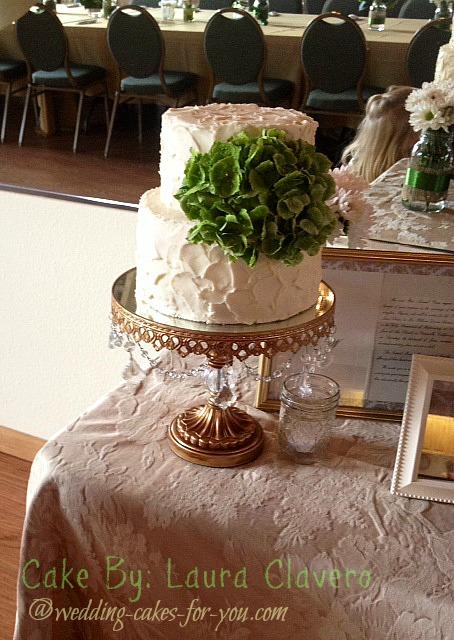 Anniversary cake by Laura Clavera