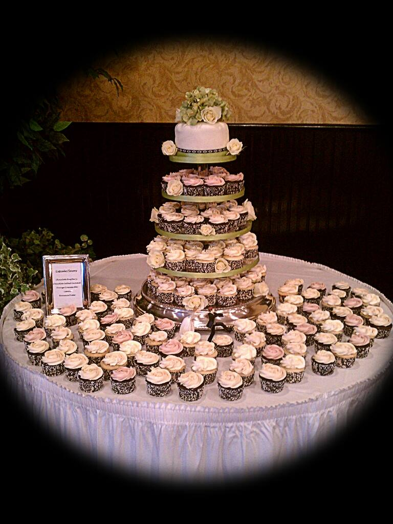 Cupcake wedding cake by My Little Peace of Cake