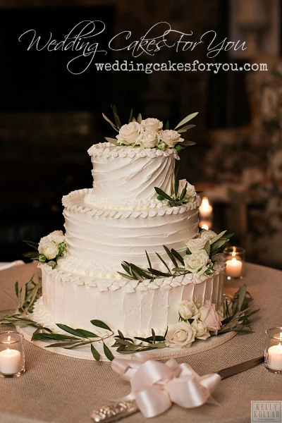 lavender rosemary wedding cake