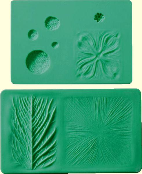 flower impression mats
