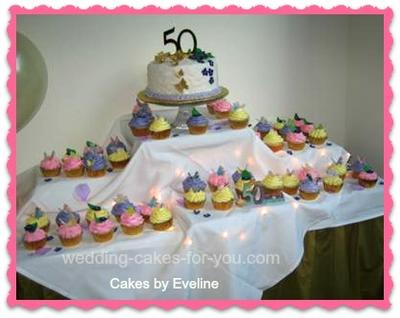 50 cupcakes For A 50th Wedding Anniversary