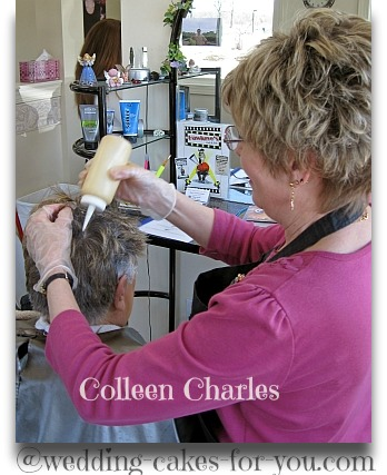 Hairdresser Colleen Charles