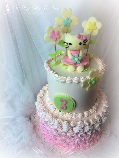 Hello Kitty Cake Design By Lorelie