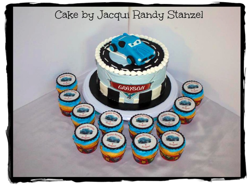 Finn Mcmissile cake by Jacqui Randy Stanzel