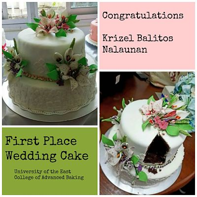 prize winning wedding cake