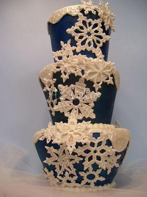 Christmas Wedding Cakes And Christmas Cake Decorating Ideas