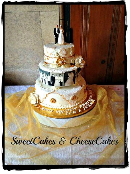 Anniversary cake by Colleen Sweetcakes & Cheesecakes