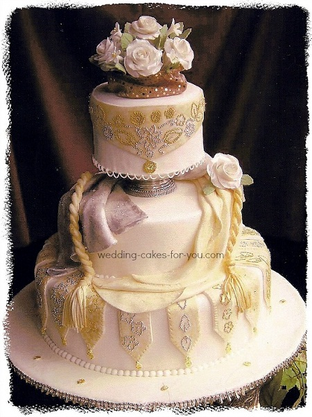award winning fondant wedding cake