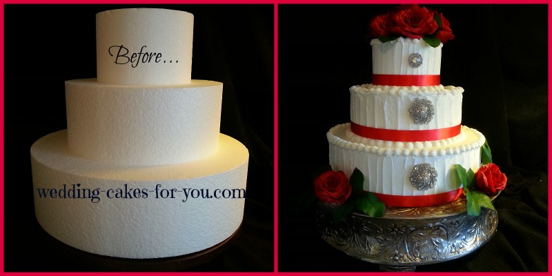 Wedding Cakes Take The Cake - Wedding Cake Dummy