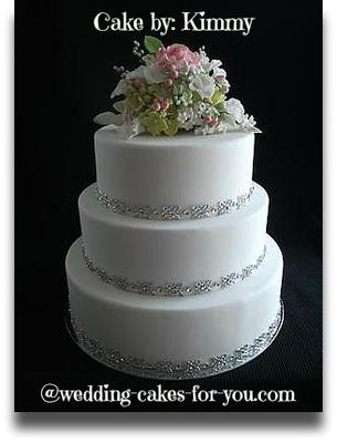 Cake Dummies And Sugar Flowers - Wedding Cake Dummy