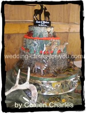 mossy oak wedding cake toppers camouflage cake 17539