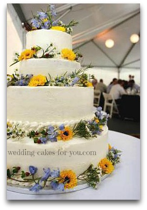 cheesecake wedding cake