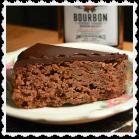 Slice of Bourbon Pecan Cake