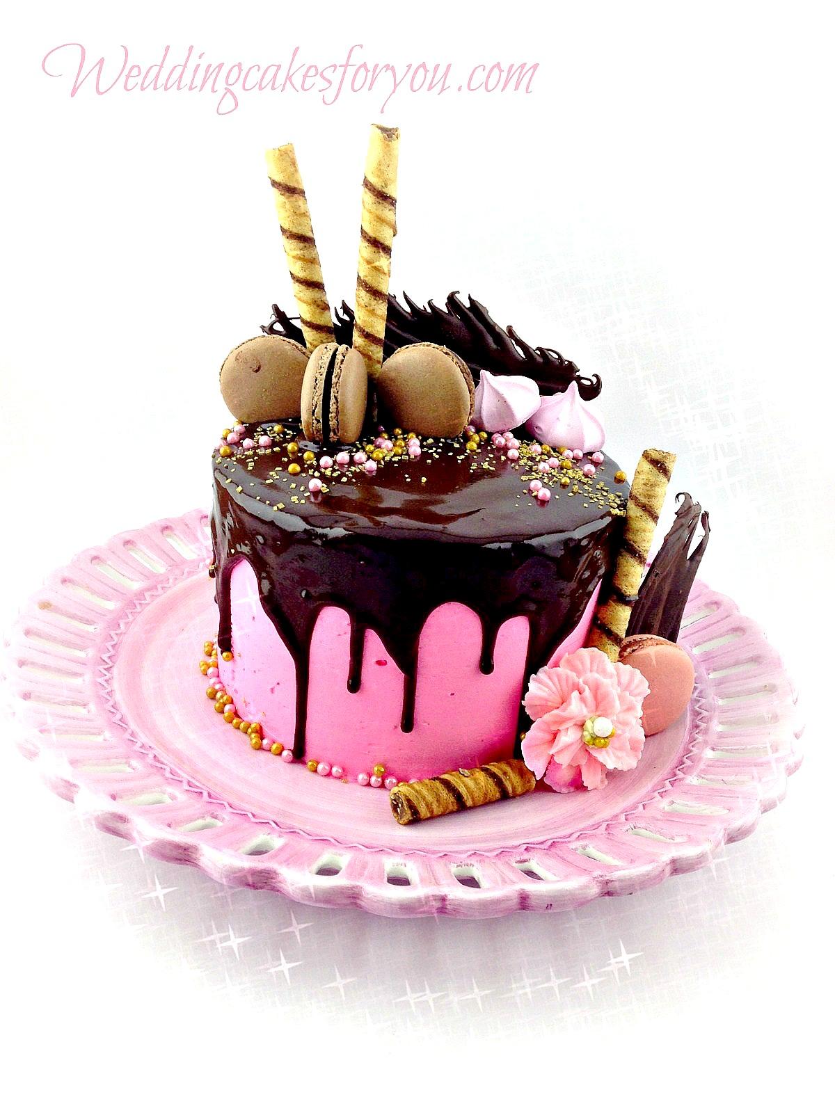 Chocolate Orange Cake Decorations