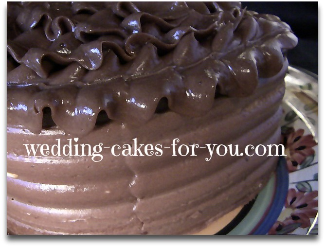 chocolate fudge wedding cake recipe chocolate fudge icing is easy icing to make for an amazing 12708