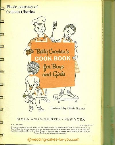 Betty Crocker's Cookbook for kids