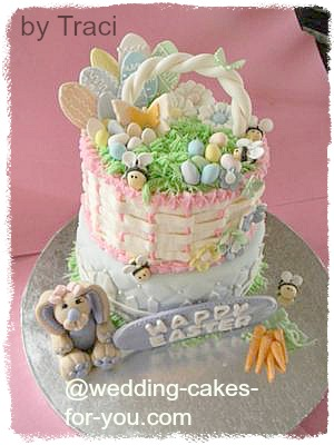 Basket cake easter basket cake negle Gallery