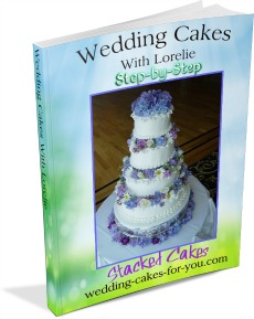 Make a wedding cake step-by-step with Lorelie's Book