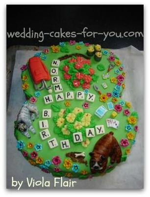 Cake Decorating Books Nz : Decorated Cakes