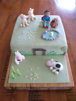 B'day Farm Cake