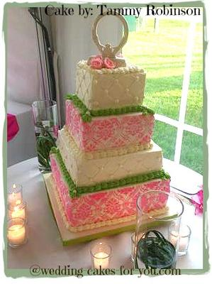 Wedding Cake By Tammy Robinson