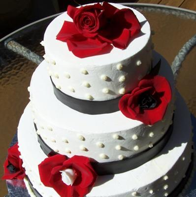 wedding cake fondant design cakes decorated with fondant decoratingspecial 22686