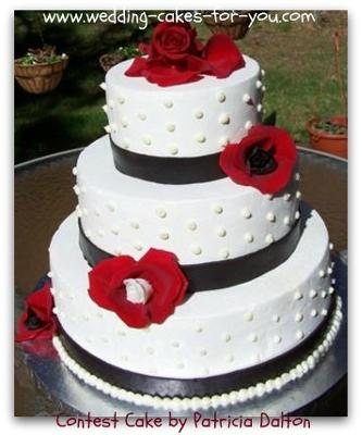 easy fondant design techniques for wedding cakes