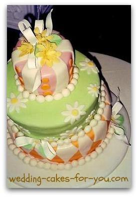 Whimsical Fondant Cake