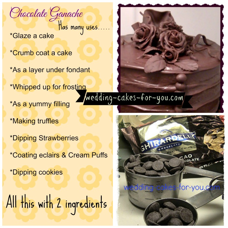 Chocolate Ganache Icing Using The Best Ghirardelli Chocolate