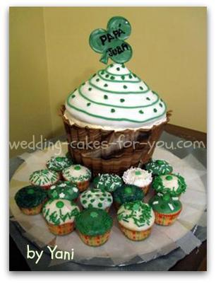 Saint Patricks day cake