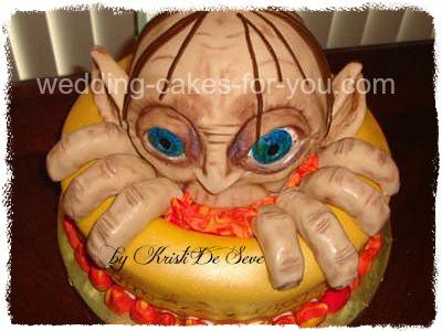 gollum cake