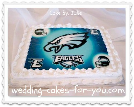 Eagles Grooms Cake