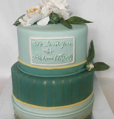 A Going Away Cake