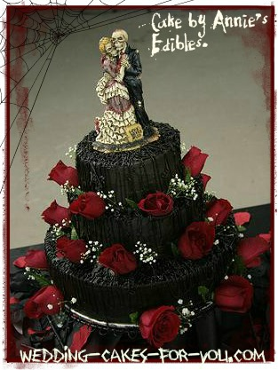 Halloween Decoration Ideas on Halloween Wedding Cakes And Creepy Halloween Wedding Decoration Ideas