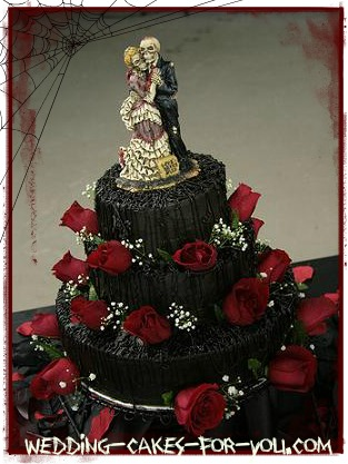 Halloween Wedding Cake Inspirational Ideas