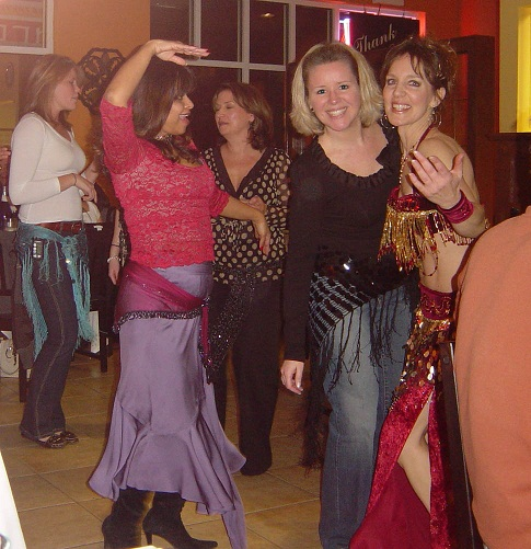 ladies at the party
