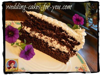 Slice of Hazelnut Cake